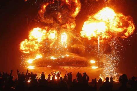 sentient developments    biggest burning man