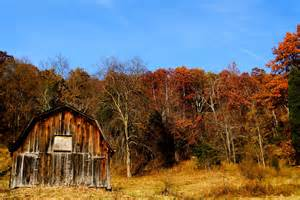 file autumn country barn fall leaves sky west virginia