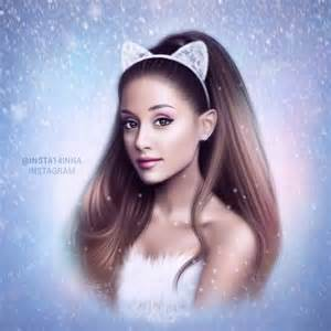 santa tell me ariana grande drawing by by inna on