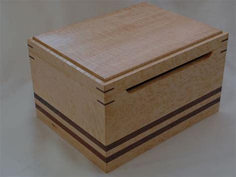 Handcrafted Creations - custom wedding card box by clark wood creations