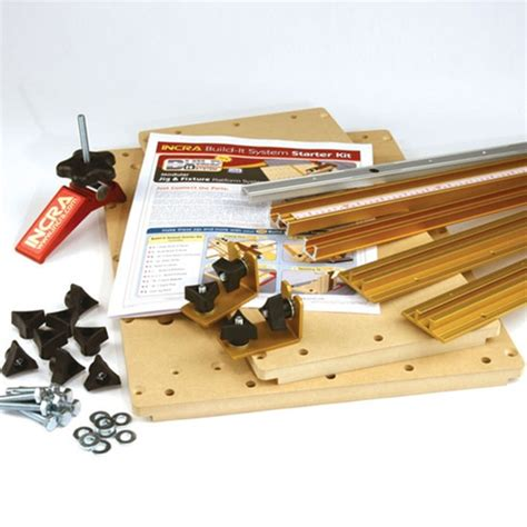 incra woodworking incra build it system starter kit