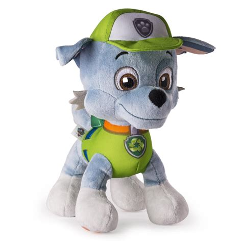 what of is rocky from paw patrol paw patrol basic 10 plush rocky paw patrol