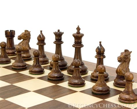 luxury chess set madrid grand sheesham and walnut luxury chess set rcpb026