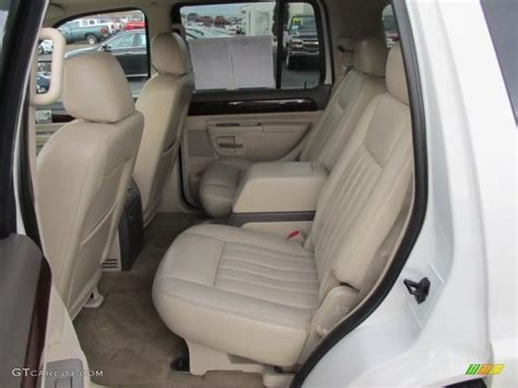 Lincoln Aviator Interior by Light Parchment Interior 2004 Lincoln Aviator Luxury Awd