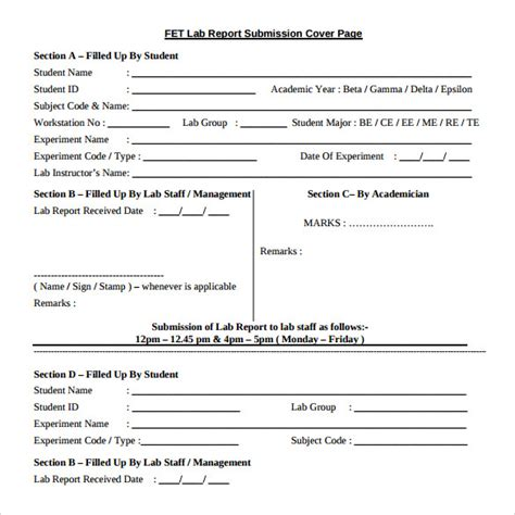 report cover template free sle report cover page 11 documents in pdf