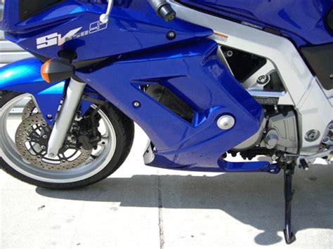 Suzuki Sv650 Lower Fairing 2004 Suzuki Sv650s With Lower Fairing