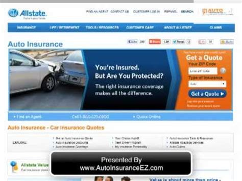 Car Insurance Ratings by Allstate Car Insurance Company Review Ratings