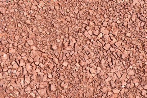 ghiaia rossa struttura rossa della ghiaia della roccia fotografia stock