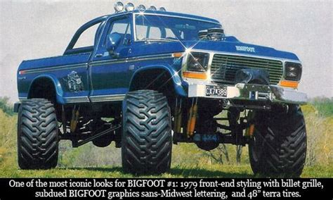 the original bigfoot truck the original bigfoot you can get there from here