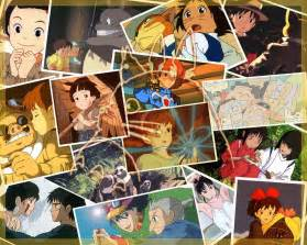 Studio Ghibli Movies by Pics Photos The Films Of Studio Ghibli Illustrated By