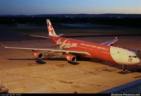 airasia perth 9m xab airasia x airbus a340 300 at perth wa photo id