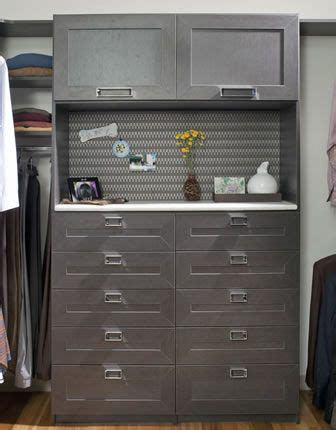 his walk in closet drawer unit home remodeling