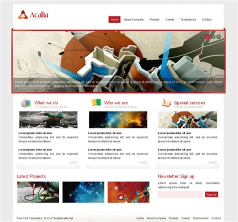 html5 templates free download with css layout css templates market download free css templates