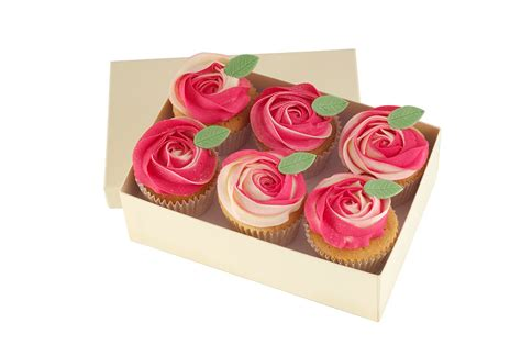 valentines day cupcake boxes valentine s day flower cupcakes peony cupcakes rachael s