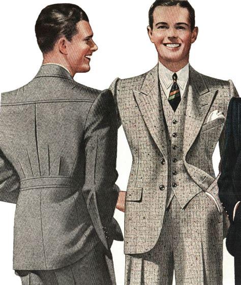 a popular style of 1930s suit 1930s style blazer men suit sportswear wool tweed jacket