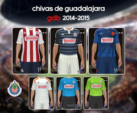 chivas de guadalajara gdb apertura 2014 abiel kits