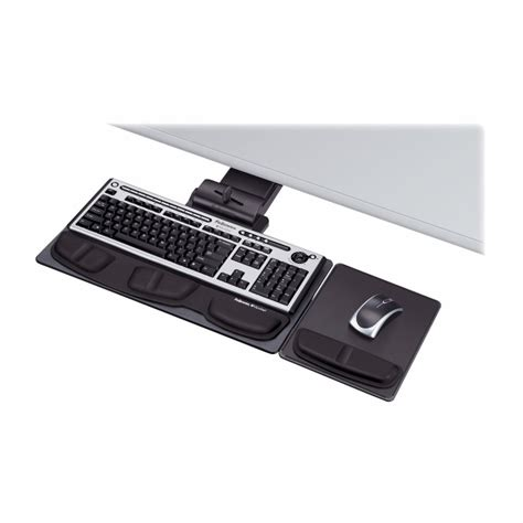 Fellowes Deluxe Keyboard Drawer by Fellowes Deluxe Keyboard Drawer With Soft Touch Wrist Rest