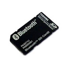bluetooth business card toshiba launches new securedigital bluetooth card