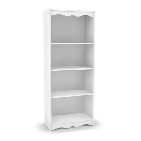 Sonax Hawthorn 60 Quot Tall Frost White Bookcase Ebay White Bookcase