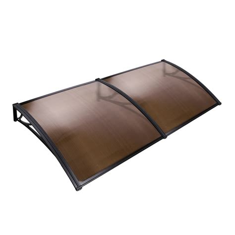 awning cover diy window door awning cover brown 100 x 200cm