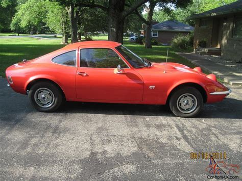 opel orange 1970 opel gt fire glow orange looks red