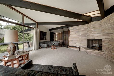 mid century modern family room stunning spectacular 1961 mid century modern time capsule house in minnesota 66 photos