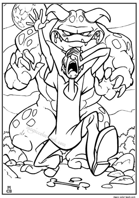 The New Scooby Doo Movies Free Coloring Pages Scooby Doo Colouring Pictures To Print