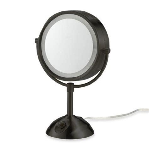 Conair Lighted Makeup Mirror by Conair Tm7lx 320 Illumina Three Panel Make Up Mirror W 4