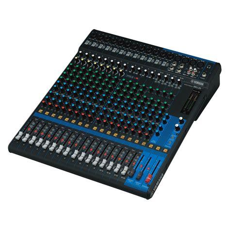 mixer console yamaha mg20 analog mixing console at gear4music