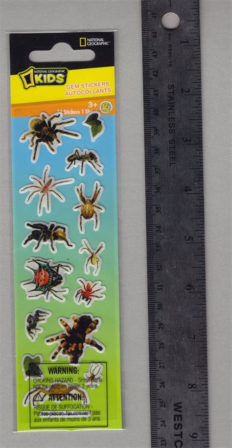 Sticker National Geographic national geographic stickers bugs spiders