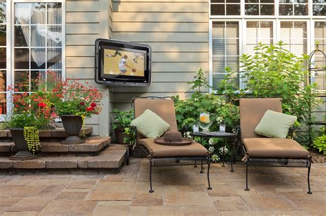 Patio Tv Outdoor Tv Enclosure Pictures To Pin On Pinsdaddy