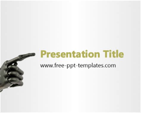 Robotic Ppt Template Free Powerpoint Templates Robotics Ppt Templates Free