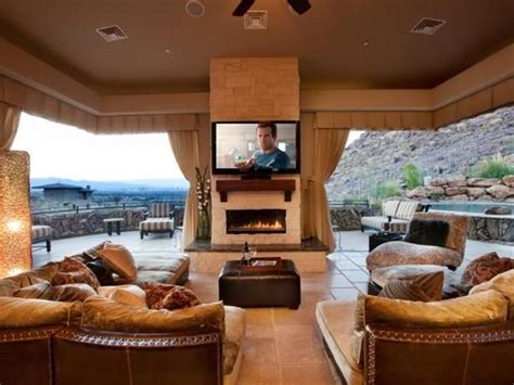 indoor into outdoor henderson nev featured in cozy gathering spaces this