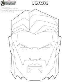 avengers free printable coloring masks oh my fiesta