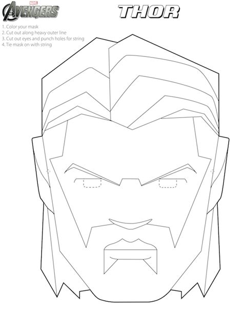 iron mask template free printable coloring masks oh my