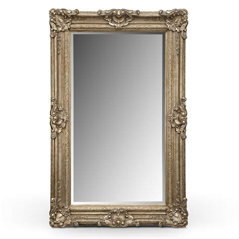silver antique accent pieces floor mirror value city furniture
