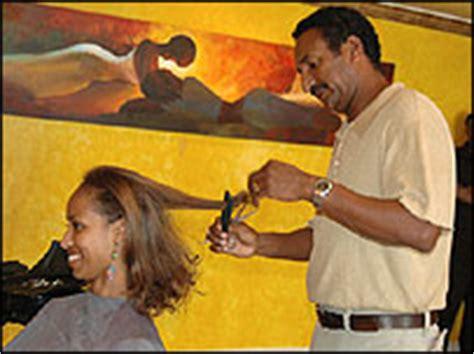 addis ababa hairstylist ethiopia s economy benefiting from emigrants returning home