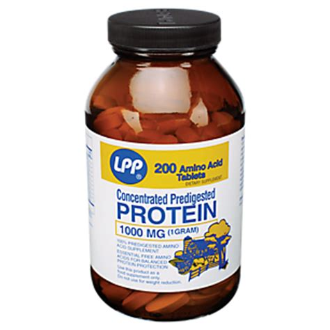 protein tablets lpp concentrated protein 1000 mg 100 tablets by twinlab