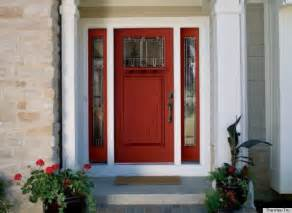 front door colors for white house what different front door colors say about the homeowner