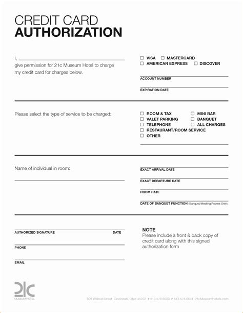 Credit Card Checkout Form Template by Credit Card Authorization Form Fotolip Rich Image