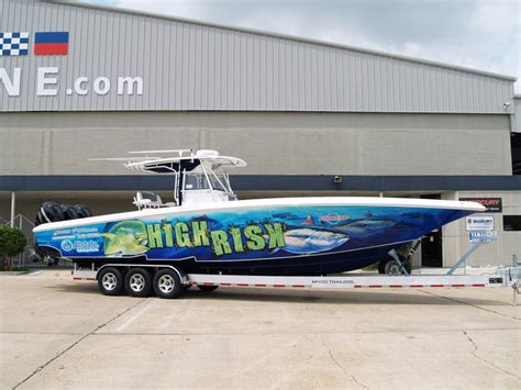 boat wraps orange beach al 2011 38 fountain open with zero hours on motors the hull