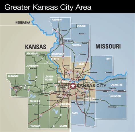 map of kansas city map of kansas city area world map 07
