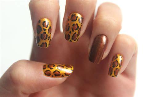 imagenes de uñas acrilicas de leopardo u 241 as de leopardo paso a paso imujer
