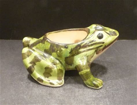 Mccoy Frog Planter by Brush Mccoy Frog Planter Mint 7 Ebay