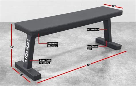 basic weight bench the rogue flat utility bench 2 0 takes the weight bench