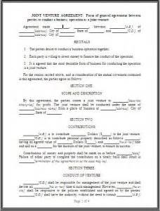 Joint Use Agreement Template Pics Photos Joint Venture Agreement Format Free Download