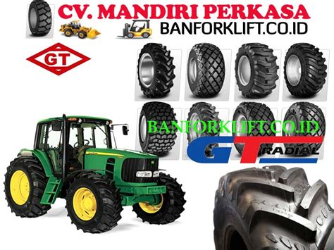 Ban Grader Gajah Tunggal forklift bekas ban traktor pertanian