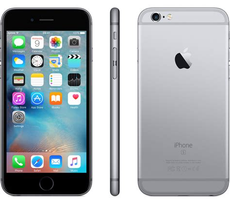 buy apple iphone 6s 16 gb space grey free delivery currys