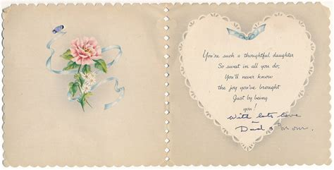 valentines for daughters a message for inner pages striderv