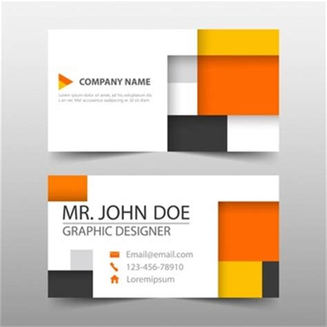 cube business card template free cube design background vector free